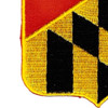 110th Field Artillery Regiment Patch | Lower Left Quadrant