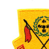 110th Cavalry Regiment Patch | Upper Left Quadrant