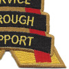 10th Support Group Patch | Lower Right Quadrant