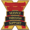 10th Support Group Patch