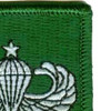 10th Special Forces Group Senior Jump Wings Patch | Upper Right Quadrant