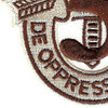 5th Special Forces Group Crest Desert Brown 5 Patch | Lower Left Quadrant