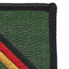 10th Special Forces Group Europe Flash Patch | Upper Right Quadrant