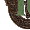 10th Special Forces Group Crest OD Green 10 Patch   Lower Left Quadrant