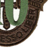 10th Special Forces Group Crest OD Green 10 Patch   Lower Right Quadrant