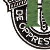 10th Special Forces Group Crest Green 10 Patch | Lower Left Quadrant