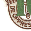 10th Special Forces Group Crest Desert Green 10 Patch | Lower Left Quadrant
