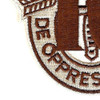 10th Special Forces Group Crest Desert Brown 10 Patch | Lower Left Quadrant