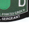 10th Special Forces Group 18D Military Occupational Specialty MOS Patch Medical Sergeant | Lower Right Quadrant