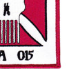 10th Mountain Special Forces Group Operational Detachment Alpha ODA-015 Patch | Lower Right Quadrant
