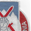 10th Mountain Infantry Division Special Troops Battalion Patch STB-28 | Upper Right Quadrant
