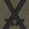 10th Mountain Division OD Patch | Center Detail