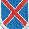 10th Mountain Division Flash Patch | Center Detail