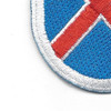 10th Mountain Division Flash Patch | Lower Left Quadrant