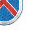 10th Mountain Division Flash Patch | Lower Right Quadrant