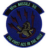10th Missile Squadron Patch