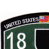 5th Special Forces Group 18D MOS Patch | Upper Left Quadrant