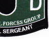 5th Special Forces Group 18D MOS Patch | Lower Right Quadrant