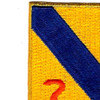14th Cavalry Regiment Patch | Upper Left Quadrant