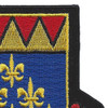 146th Cavalry Regiment Patch | Upper Right Quadrant