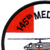 145th Medical Detachment Patch Hell. Amb | Upper Left Quadrant