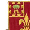 145th Field Artillery Regiment Patch | Upper Left Quadrant