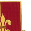 145th Field Artillery Regiment Patch | Upper Right Quadrant