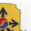 145th Cavalry Regiment Patch | Upper Right Quadrant