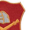10th Field Artillery Regiment Patch | Upper Right Quadrant