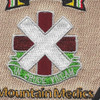 10TH Combat Support Medical Hospital Iraq Patch | Center Detail