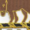 10th Cavalry Regiment Patch   Center Detail