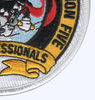 5th Mobile Construction Battalion The Professionals Patch   Lower Right Quadrant