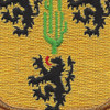 109th Cavalry Battalion Patch | Center Detail