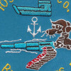 1099th MFR Boat Company Patch | Center Detail