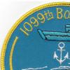 1099th MFR Boat Company Patch | Upper Left Quadrant