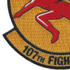 107th Fighter Squadron A-10 Patch | Lower Left Quadrant