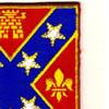 107th Field Artillery Regiment Patch | Upper Right Quadrant