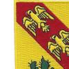 107th Armored Cavalry Regiment Patch | Upper Left Quadrant