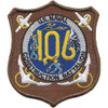 106th Mobile Construction Battalion Patch Kan Groo Cb