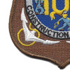 106th Mobile Construction Battalion Patch Kan Groo Cb | Lower Left Quadrant