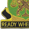 105th Military Police Battalion Patch | Lower Left Quadrant