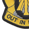 105th Cavalry Regiment Patch | Lower Left Quadrant