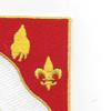 104th Military Police Battalion Patch | Upper Right Quadrant
