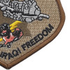 104th Expeditionary Flight Sqadron A-10C Operation Iraqi Freedom Patch | Lower Right Quadrant