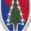103rd Patch Regimental Combat Team | Center Detail