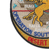 103rd Fighter Squadron Operation Southern Watch Patch | Lower Left Quadrant