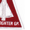 103rd Fighter Group Triangle Patch | Lower Right Quadrant