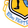 103rd Fighter Group Patch | Lower Left Quadrant