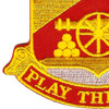 103rd Field Artillery Regiment Patch | Lower Left Quadrant