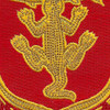 103rd Armored Cavalry Regiment Patch   Center Detail